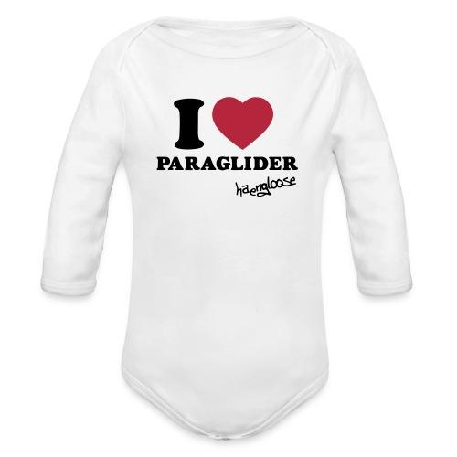 iloveparaglider - Baby Bio-Langarm-Body