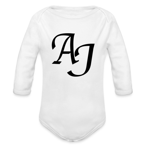 AJ Mouse Mat - Organic Longsleeve Baby Bodysuit