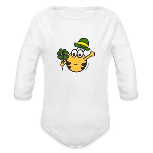 Glücksbringer - Baby Bio-Langarm-Body