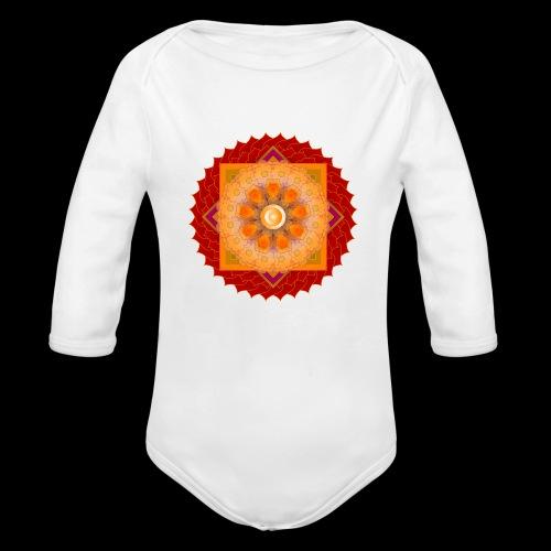 mandala 6 - Organic Longsleeve Baby Bodysuit