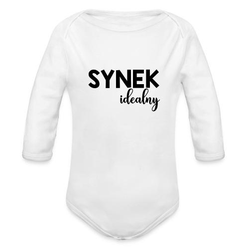 SYNEK IDEALNY - Ekologiczne body niemowlęce z długim rękawem