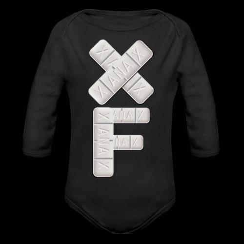 XF Xanax Logo - Baby Bio-Langarm-Body