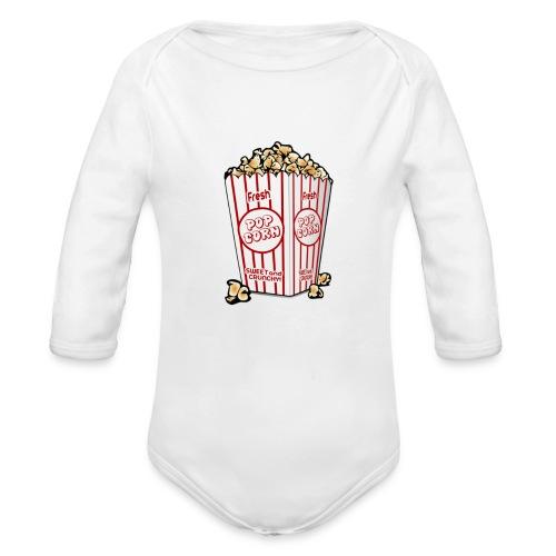 Popcorn trøje | ML Boozt | - Langærmet babybody, økologisk bomuld