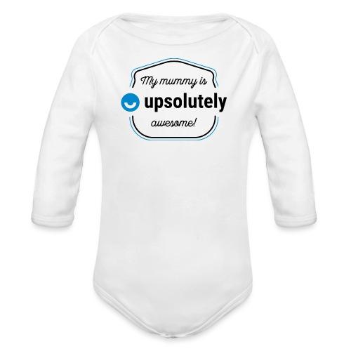 upday babygro mummy - Organic Longsleeve Baby Bodysuit