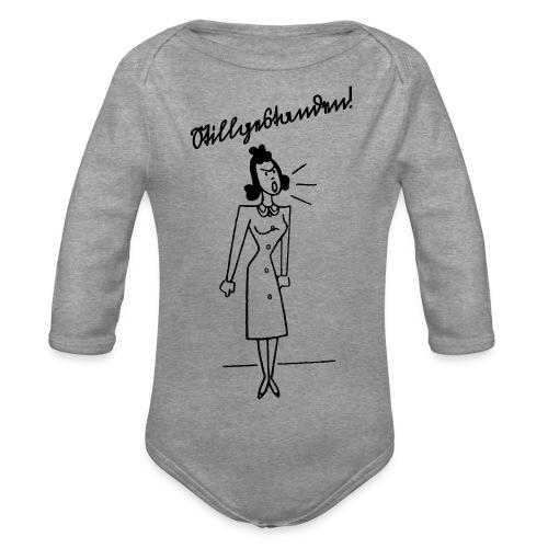 Stillgestanden! - Baby Bio-Langarm-Body