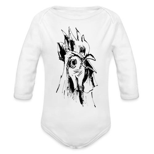 Mohawk - Baby Bio-Langarm-Body
