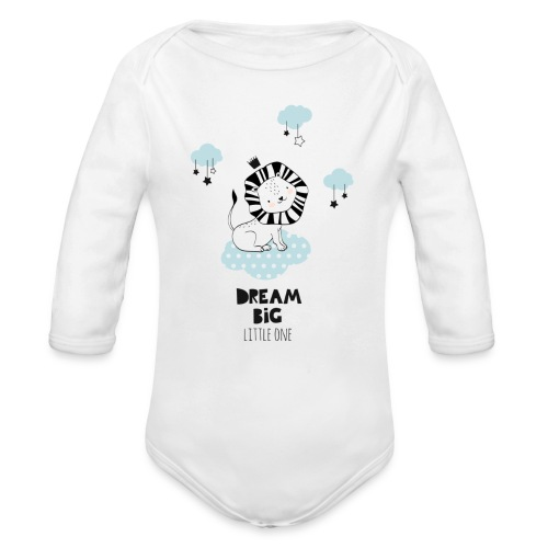 dream big little one - Baby Bio-Langarm-Body