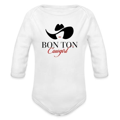 Bon Ton - Body ecologico per neonato a manica lunga