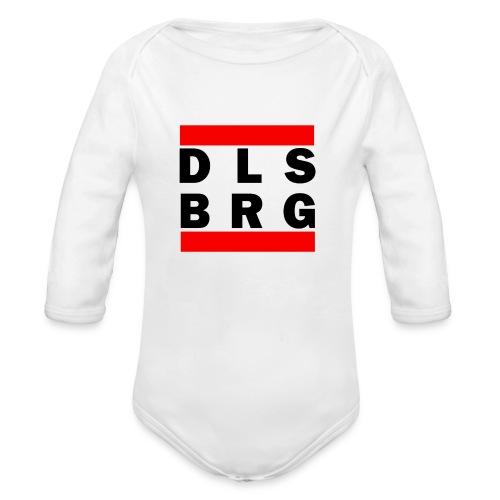 DLSBRG transparent schwarz png - Baby Bio-Langarm-Body