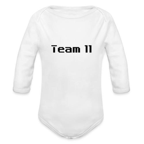 Team 11 - Organic Longsleeve Baby Bodysuit