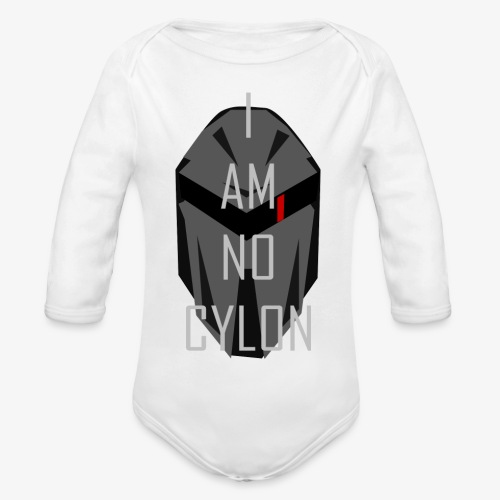 I am not a Cylon - Økologisk langermet baby-body