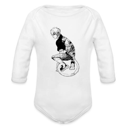 Chico mono - Body orgánico de manga larga para bebé