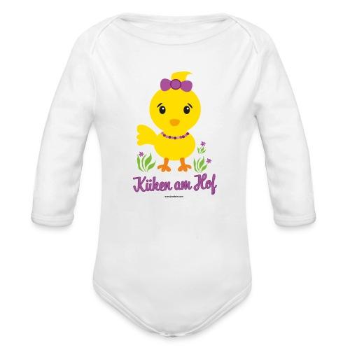 Ostern für kleine Mädchen - Baby Bio-Langarm-Body