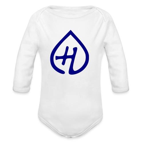Hangprinter logo - Ekologisk långärmad babybody