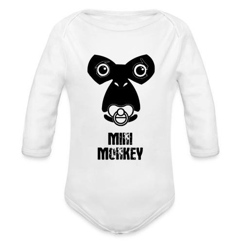Monkey Fly - Monkey - Baby - Baby Bio-Langarm-Body