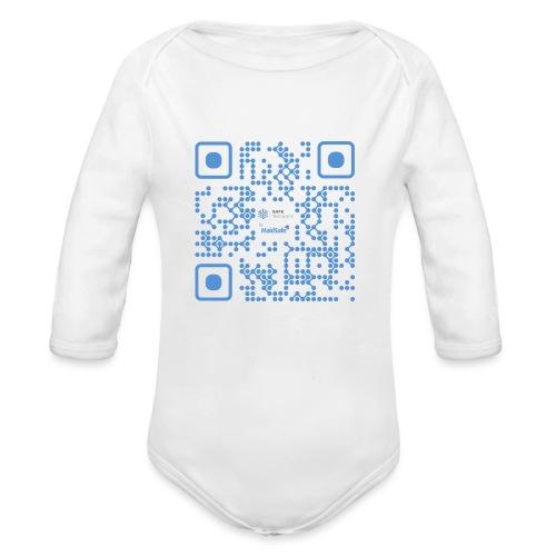 QR Maidsafe.net - Organic Longsleeve Baby Bodysuit