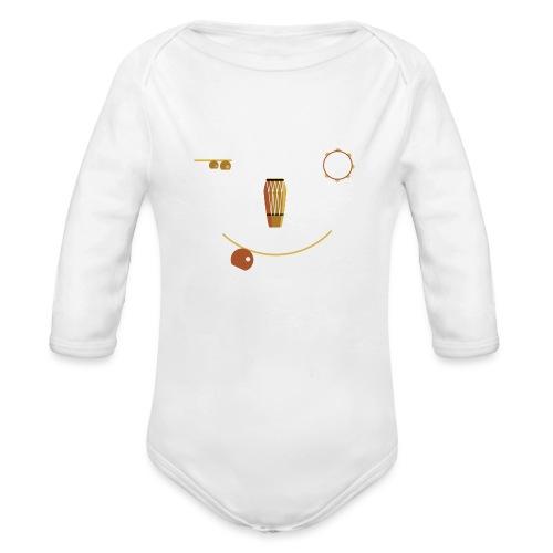 Bateria Alegra - Organic Longsleeve Baby Bodysuit