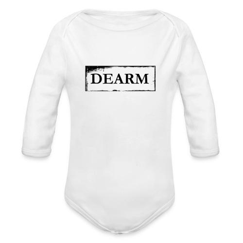 dear png - Organic Longsleeve Baby Bodysuit
