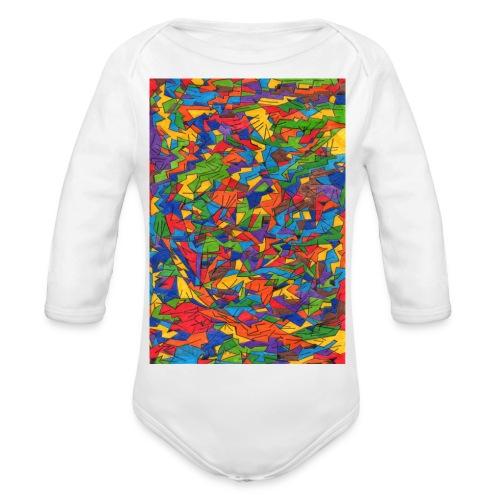 Color_Style - Body orgánico de manga larga para bebé