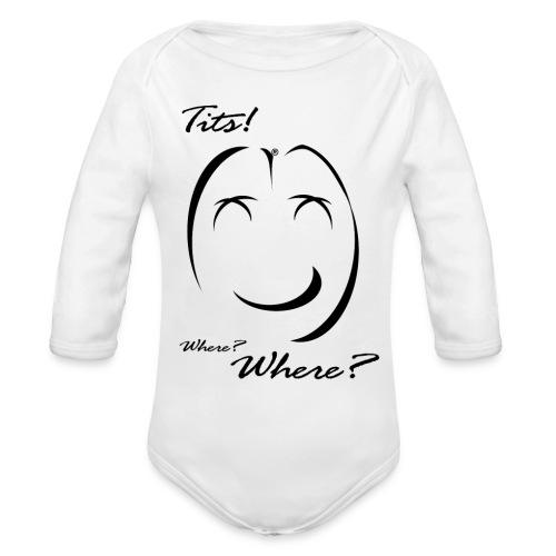 tits - Body ecologico per neonato a manica lunga