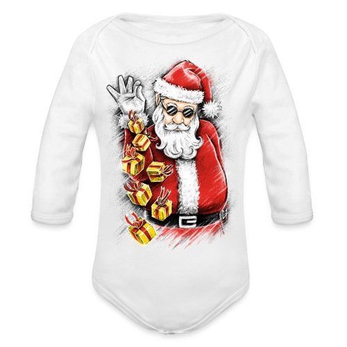 Gift Bae - Organic Longsleeve Baby Bodysuit