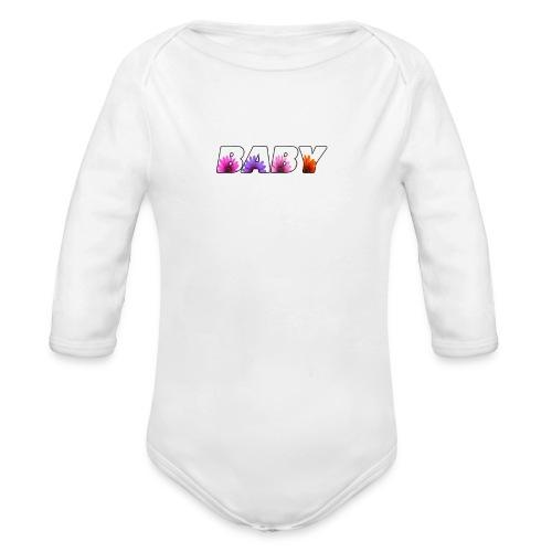 logo baby fille - Body bébé bio manches longues