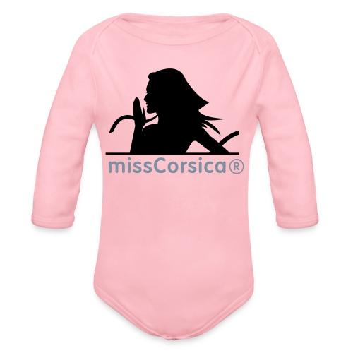 missCorsica 2B - Body Bébé bio manches longues