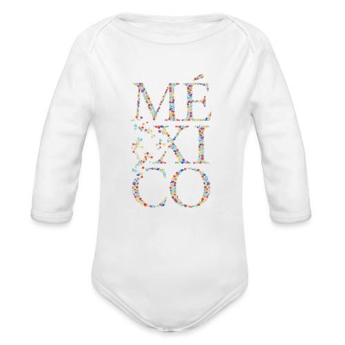 México - Baby Bio-Langarm-Body