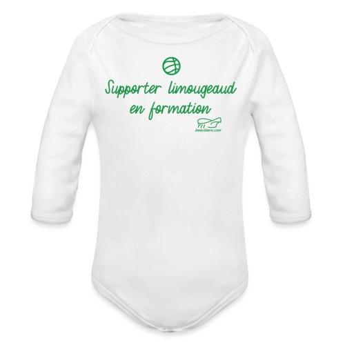 Limougeaud junior - Body Bébé bio manches longues
