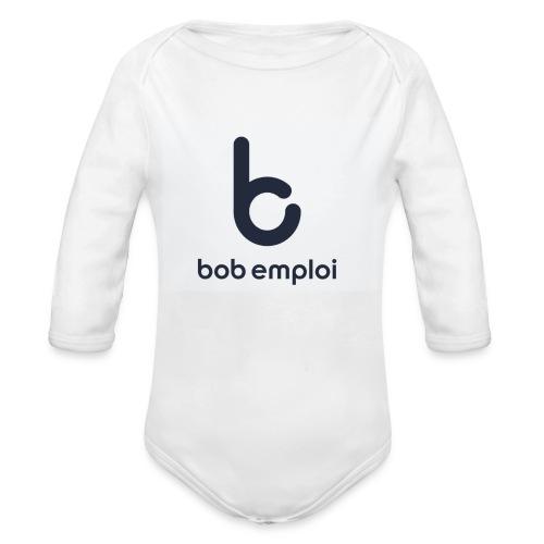 Logo_Bob_Emploi - Body bébé bio manches longues