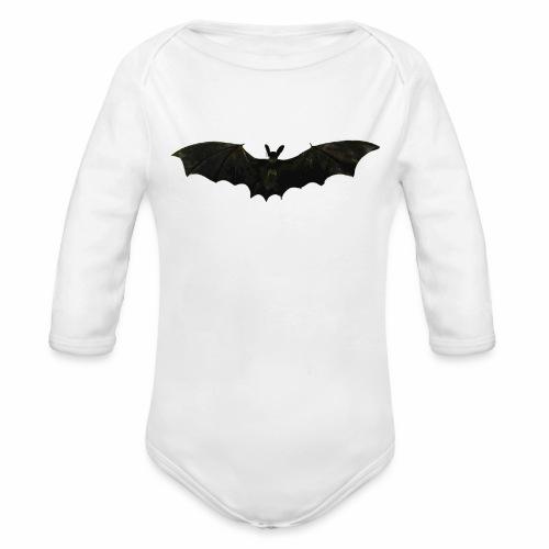 Fliegende Fledermaus - Baby Bio-Langarm-Body