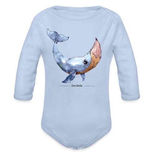 Wal-Stift (Der Holle) - Baby Bio-Langarm-Body