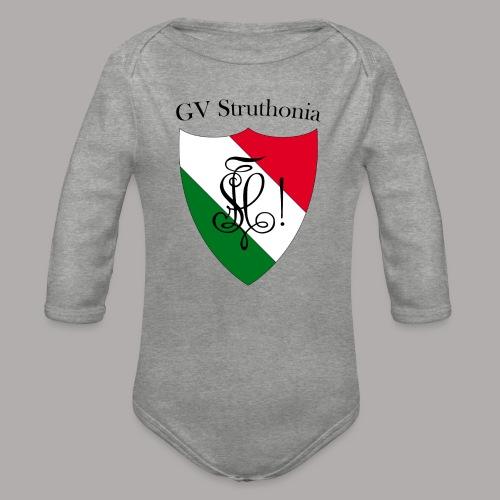 Wappen Struthonia (vorne) - Baby Bio-Langarm-Body