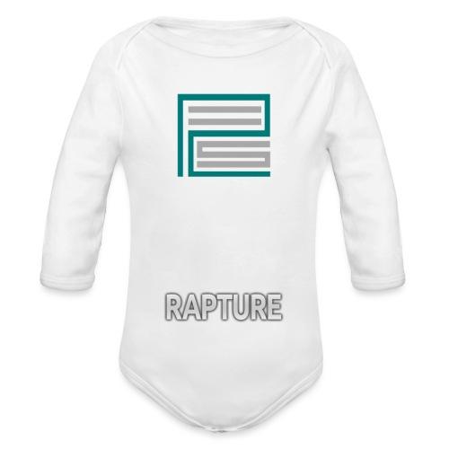 Logo w/ Text - Organic Longsleeve Baby Bodysuit