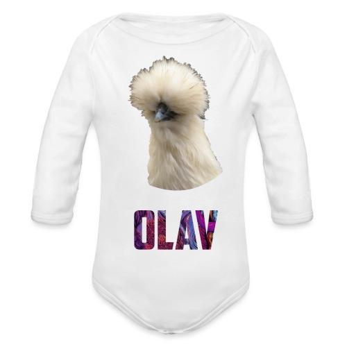Olav 2 - Økologisk langermet baby-body