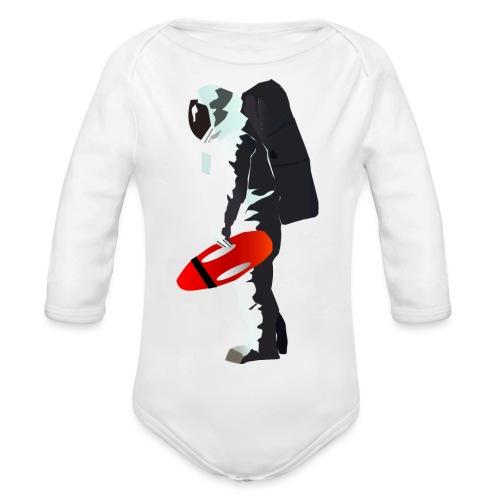 Space Lifeguard - Organic Longsleeve Baby Bodysuit