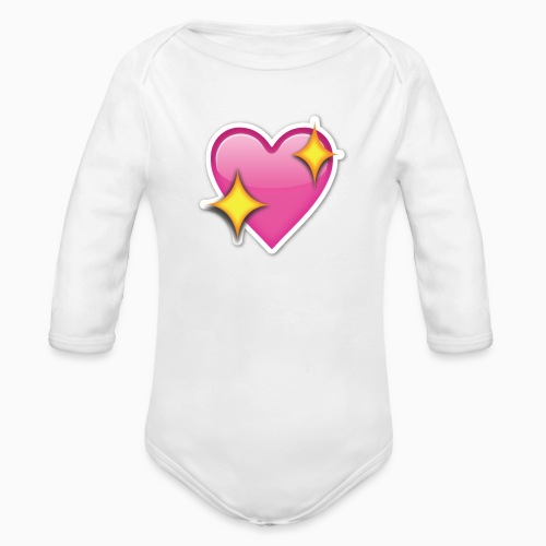 love pillow - Ekologisk långärmad babybody