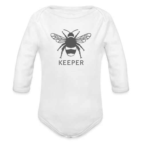 Bee Keeper - Organic Longsleeve Baby Bodysuit