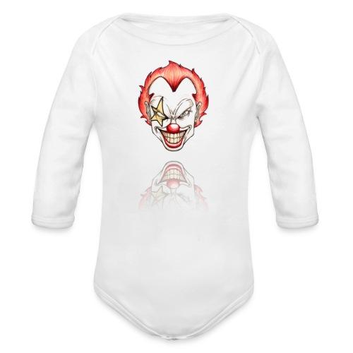 clown-png - Baby bio-rompertje met lange mouwen