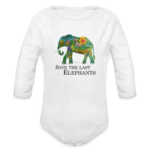 Save The Last Elephants - Baby Bio-Langarm-Body