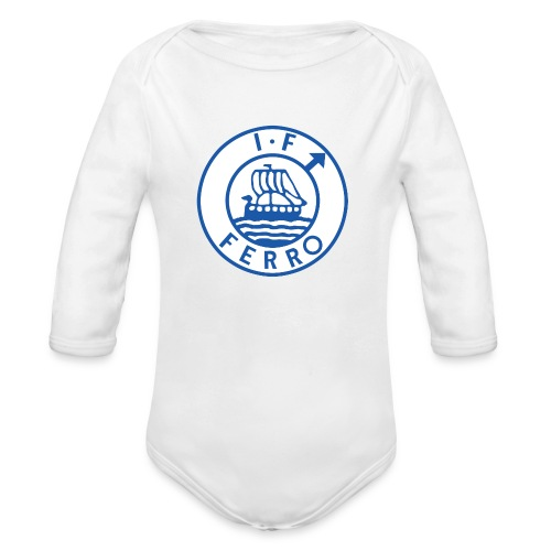 big logo Ferro png - Ekologisk långärmad babybody