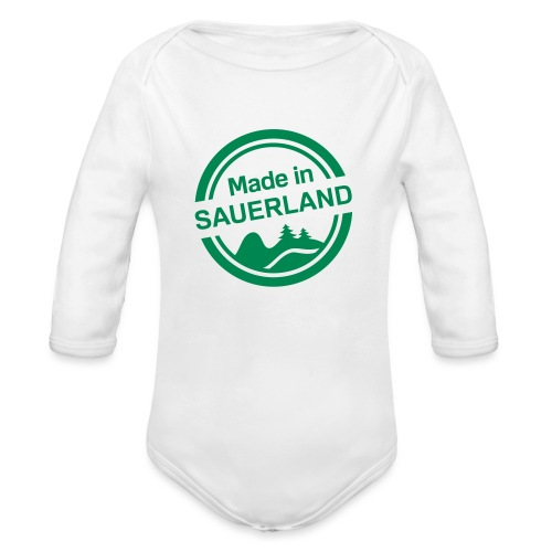 Sauerland-Made - Baby Bio-Langarm-Body