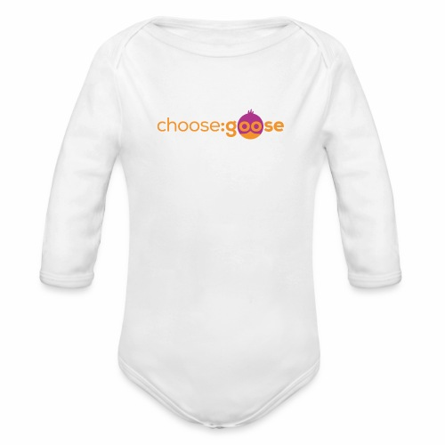 choosegoose #01 - Baby Bio-Langarm-Body