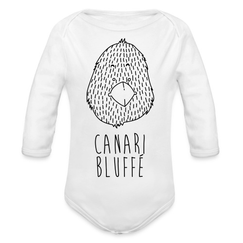 Canari Bluffé - Body Bébé bio manches longues