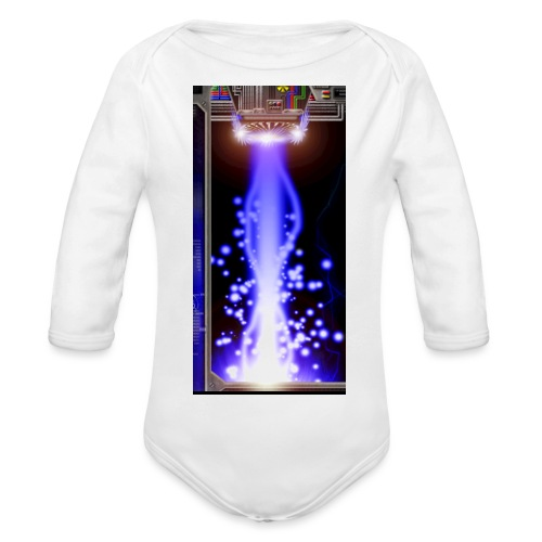 Hyperspace Potato Beam Phone Case - Organic Longsleeve Baby Bodysuit