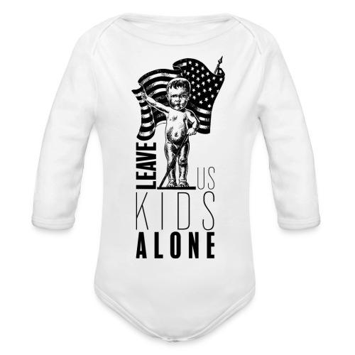 Leave us kids alone - Body bébé bio manches longues