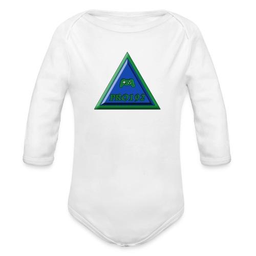 Progamer192 Illuminati t-shirt ( teenager ) - Baby bio-rompertje met lange mouwen