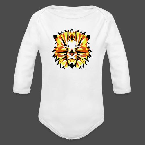 JG Lion - Organic Longsleeve Baby Bodysuit
