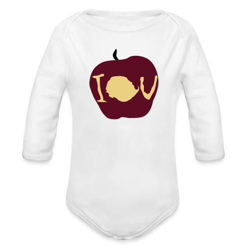 IOU (Sherlock) - Organic Longsleeve Baby Bodysuit
