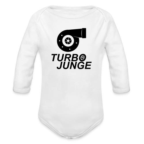 Turbojunge! - Baby Bio-Langarm-Body